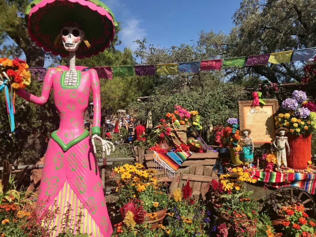 Day Of The Dead At Disneyland