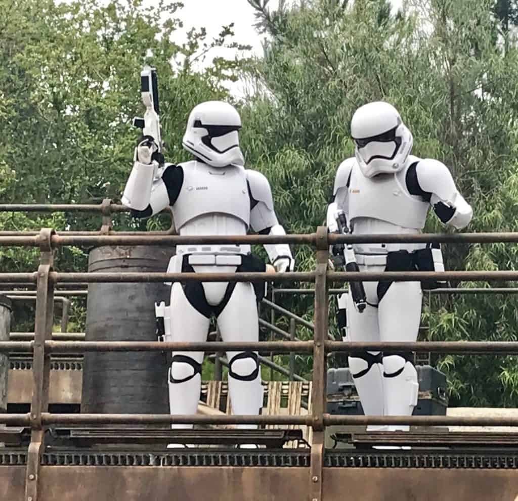 Storm Troppers At Galaxy's Edge